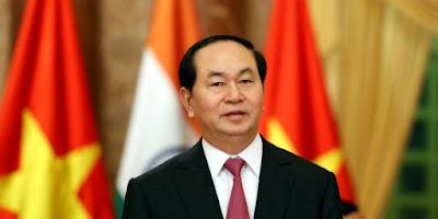 الرئيس الفيتنامي تران داى كوانج