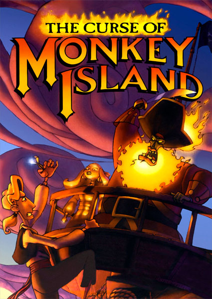 Poster The Curse of Monke Island