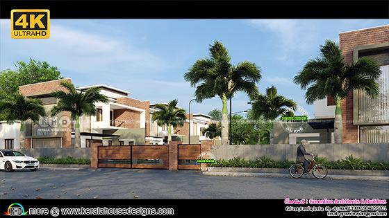 Villa view 1