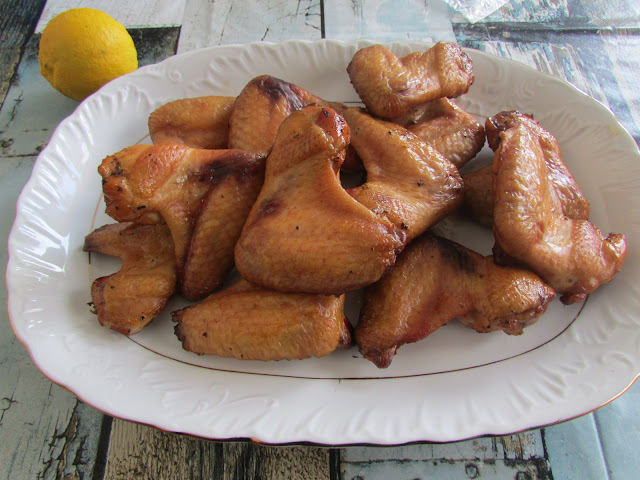 Wędzone skrzydełka z kurczaka