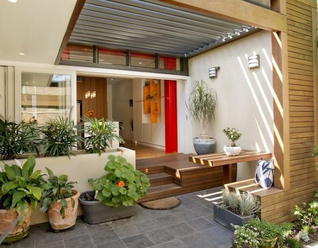 Ide Desain Teras Rumah Kreatif dan Unik