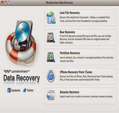 Wondershare Data Recovery For Mac Registration Code 100% Free