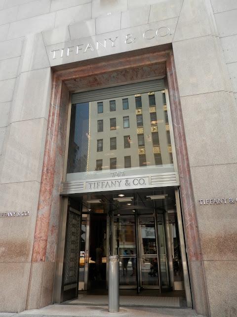 Tiffany & co Breakfast at Tiffany's