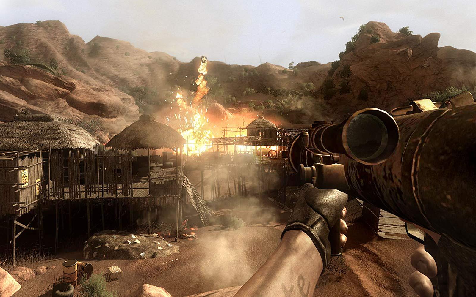 Download Far Cry 2 Full Crack Mới Nhất | Game FPS Thế Giới Mở Đỉnh Cao
