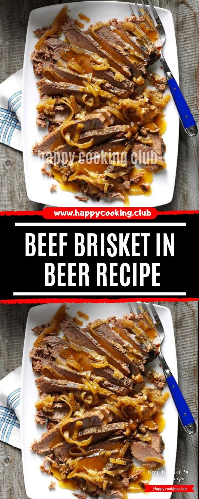 Beef Brisket in Beer Recipe