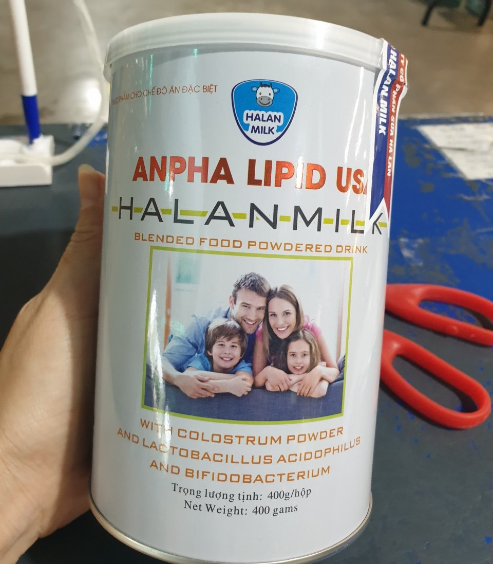 Sữa Non Alpha Lipid Lifeline của New Zealand