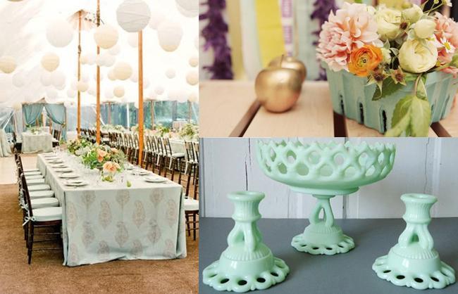 Stella's Wedding Inspirations: Mint Green Wedding Ideas