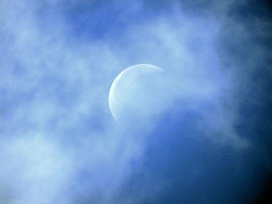 Księżyc nad Howerlą.