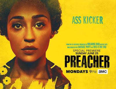 Preacher Season 2 Teaser One Sheet Television Banner - Tulip