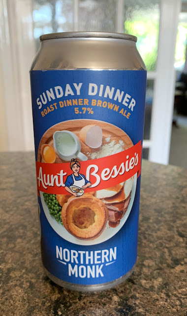Aunt Bessie's Sunday Dinner - Roast Dinner Brown Ale (Northern Monk Brew Company)