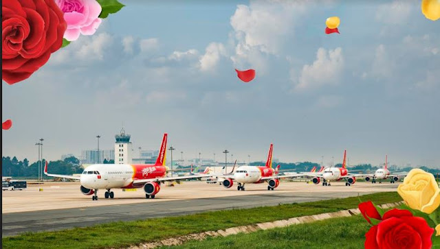 Happy International Women's Day to the beautiful half of the world, Vietjet offers 83% discount on ticket fares