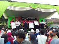 Jalan Santai Desa Pecoro Media Sosialisasi Pemilu 2019 PPK Dan PPS Sekecamata Rambipuji
