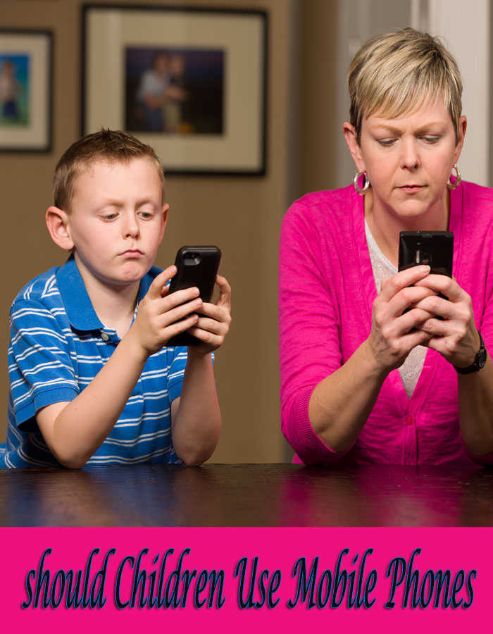 Should Children Use Mobile Phones