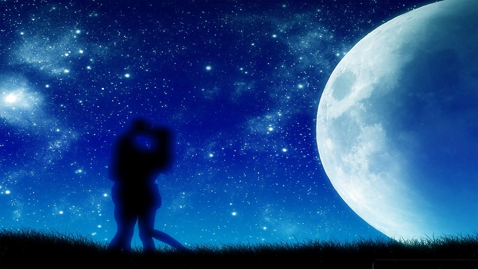 Romantic Ipad Wallpaper: Moonlight Super HD Wallpapers