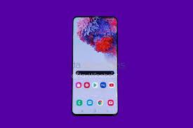 Samsung Galaxy S20+ : Display
