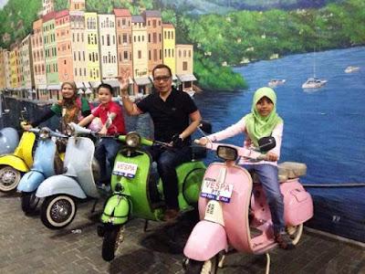 koleksi motor vespa antik museum angkut malang wisata edukasi seru di kota batu jawa timur nurul sufitri blogger mom lifestyle pegipegi liburan tempat wisata indonesia