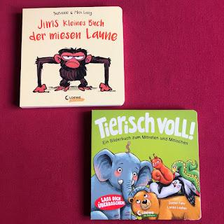 2 tierisch süsse Pappbilderbücher aus dem Loewe Verlag