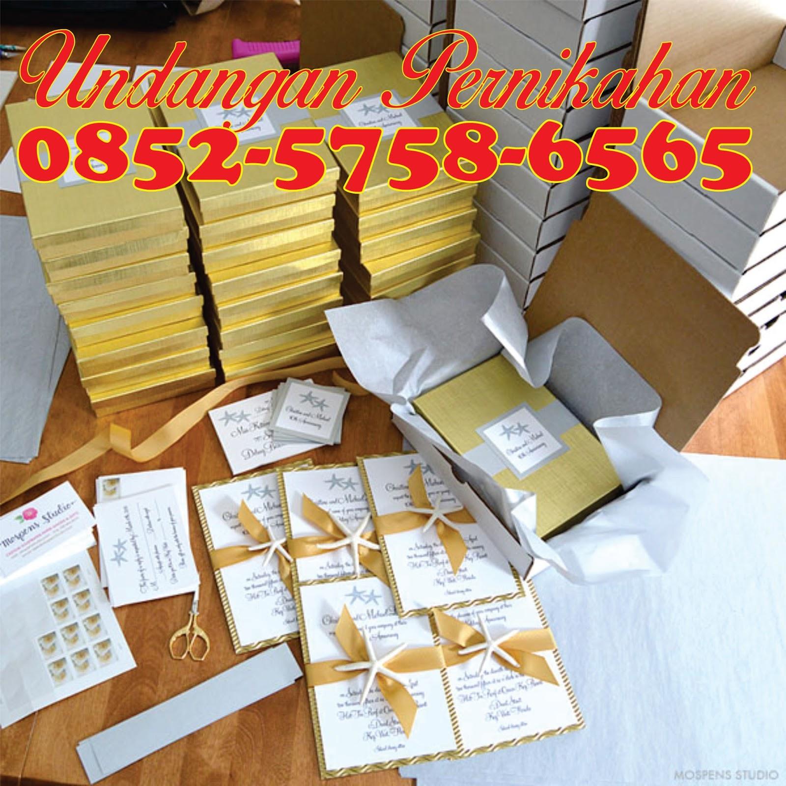 0852 5758 6565 Simpati Kartu Undangan Pernikahan Minimalis Kartu