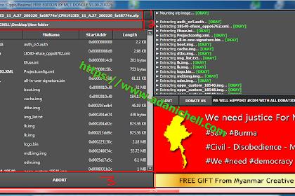 Software Ekstrak File OFP MCT OFp Extractor