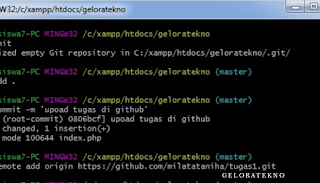 Cara Upload file di Github - geloratekno