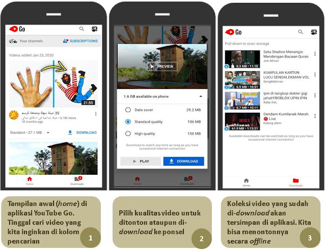 Aplikasi YouTube Go - Blog Mas Hendra