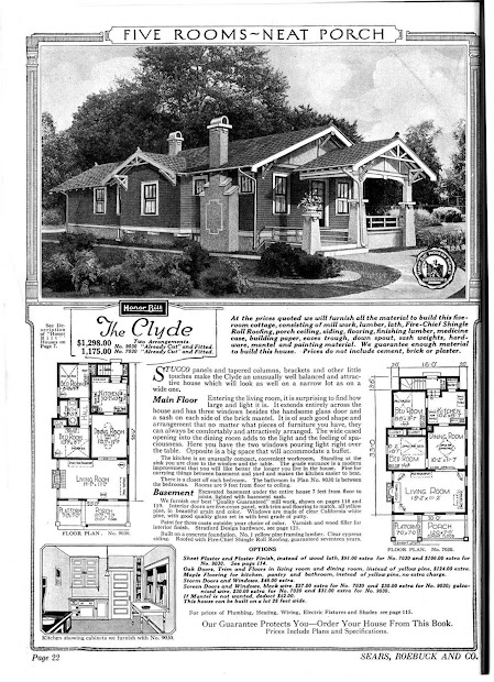 Sears Catalog Kit Homes Early 20th Century