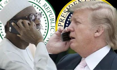 President Buhari Wishes Donald Trump & Wife Quick Recovery From COVID-19