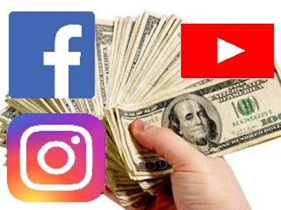 الربح من الفيسبوك يوتيوب انستجرام كيف أبدا