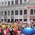 Video: Canal 7 atacado cuando trasmitían desde el segundo piso del Teatro Melico Salazar