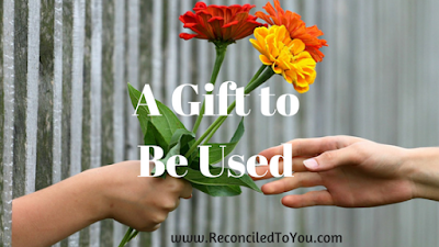 Prayer is a Gift are Meant to Be Used a Reflection by Allison Gingras part of the Walk in Her Sandals WINE Lenten Book Club series