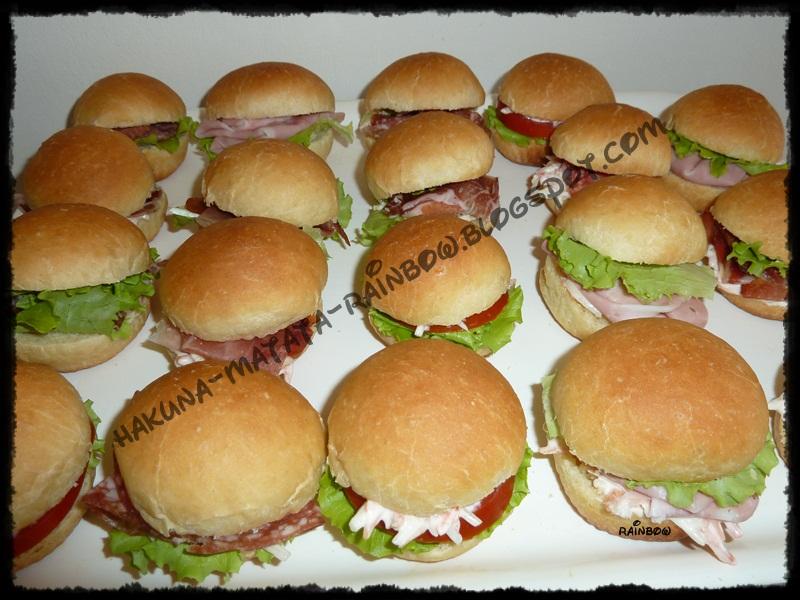 Famoso Anyone can cook!!: Panini per buffet PC86