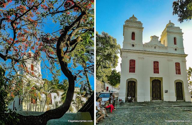 Capela de Nossa Senhora da Conceição, no Solar do Unhão, em Salvador