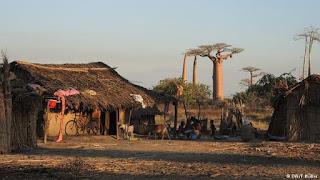 rumah penduduk asli Madagaskar yang mirip indonesia