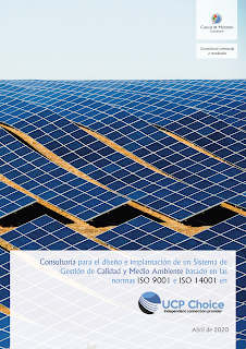 trabajo firmado entre Cuevas y Montoto Consultores y Power Choice S.L. (UCP Choice).