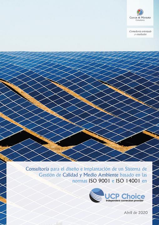 contrato firmado entre Cuevas y Montoto Consultores y AEE Power S.A.U.