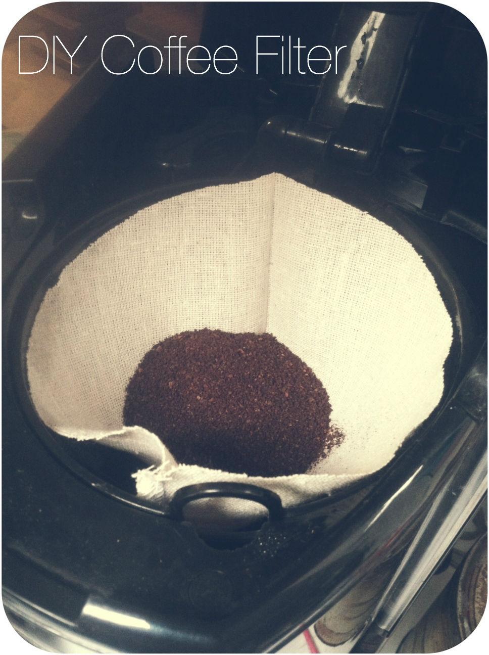 Chevron Stitches Diy Reusable Coffee Filter