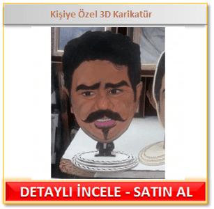 Kişiye Özel 3D Karikatür