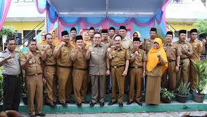 Zaiful Bokhari Kukuhkan Ketua Dan Pengurus MKKS SMP se-Kabupaten Lamtim