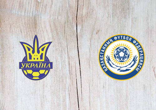 Ukraine vs Kazakhstan -Highlights 31 March 2021