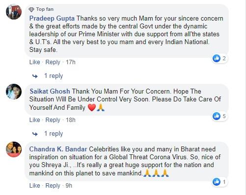 Shreya Ghoshal support Prime Minister