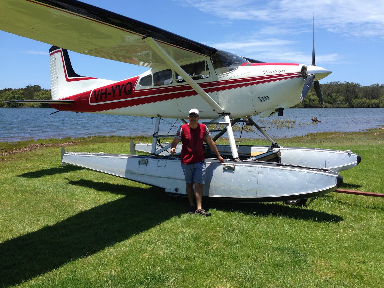 Restoration of a Cessna 185 floatplane: April 2016