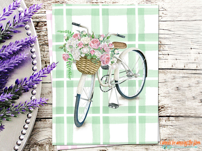 Vintage Bicycle Printable