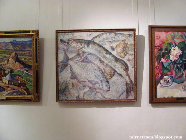 Рязанский художественный музей - Ларинов, Рыбы