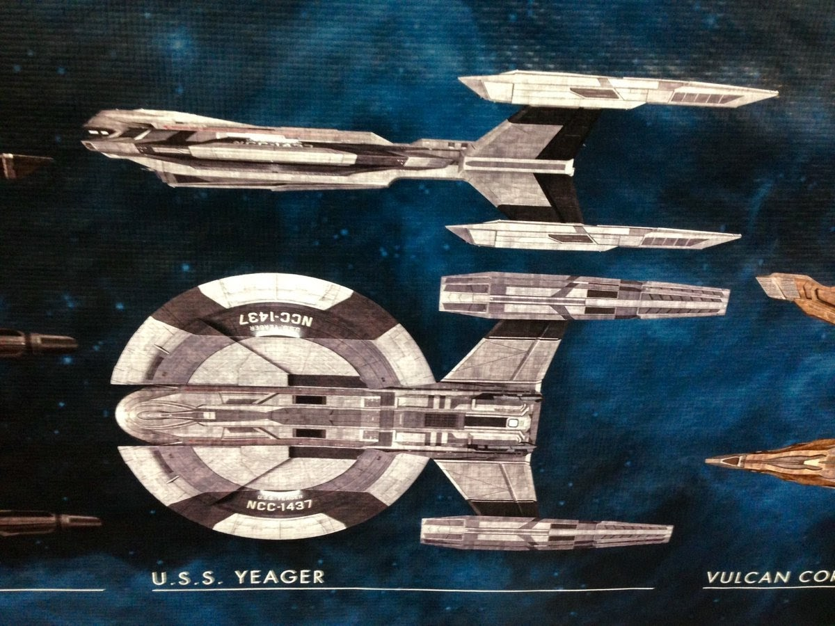 The Klingon Ships Are Handily Labeled In Both And English More Colourful Ones Really Stand Out To Me