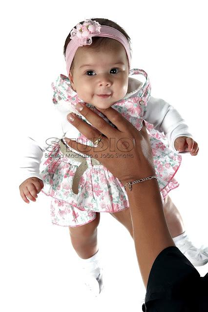 book de fotos mensal para bebes