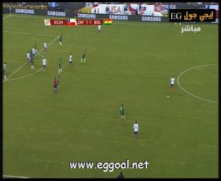 Chile-vs-Bolivia-goals 1-1 copa