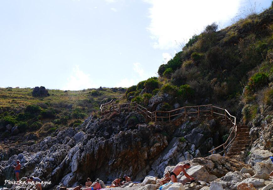 plaże na Sycylii