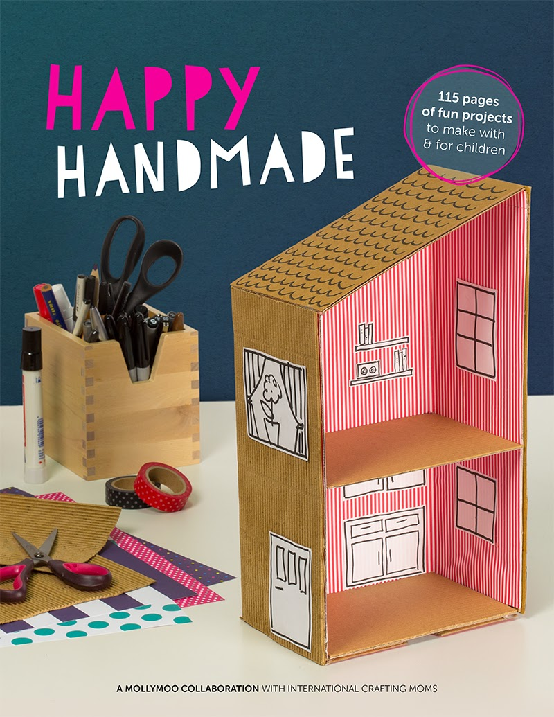 Happy Handmade Ebook- 115 pages of fun and unique kids crafts!