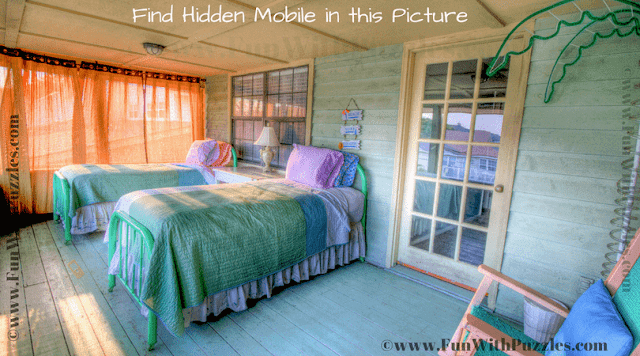 Can you find the hidden object in this puzzle image?