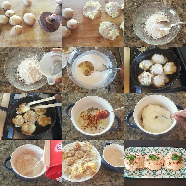 images of Cajun Spiced Potatoes / Barbeque Nation Style Cajun Potatoes Recipe / Cajun Potato